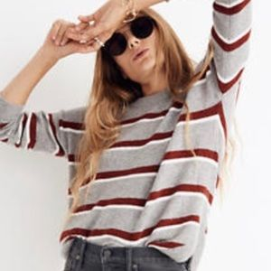 Madewell Westlake Striped Pullover Sweater Size XS